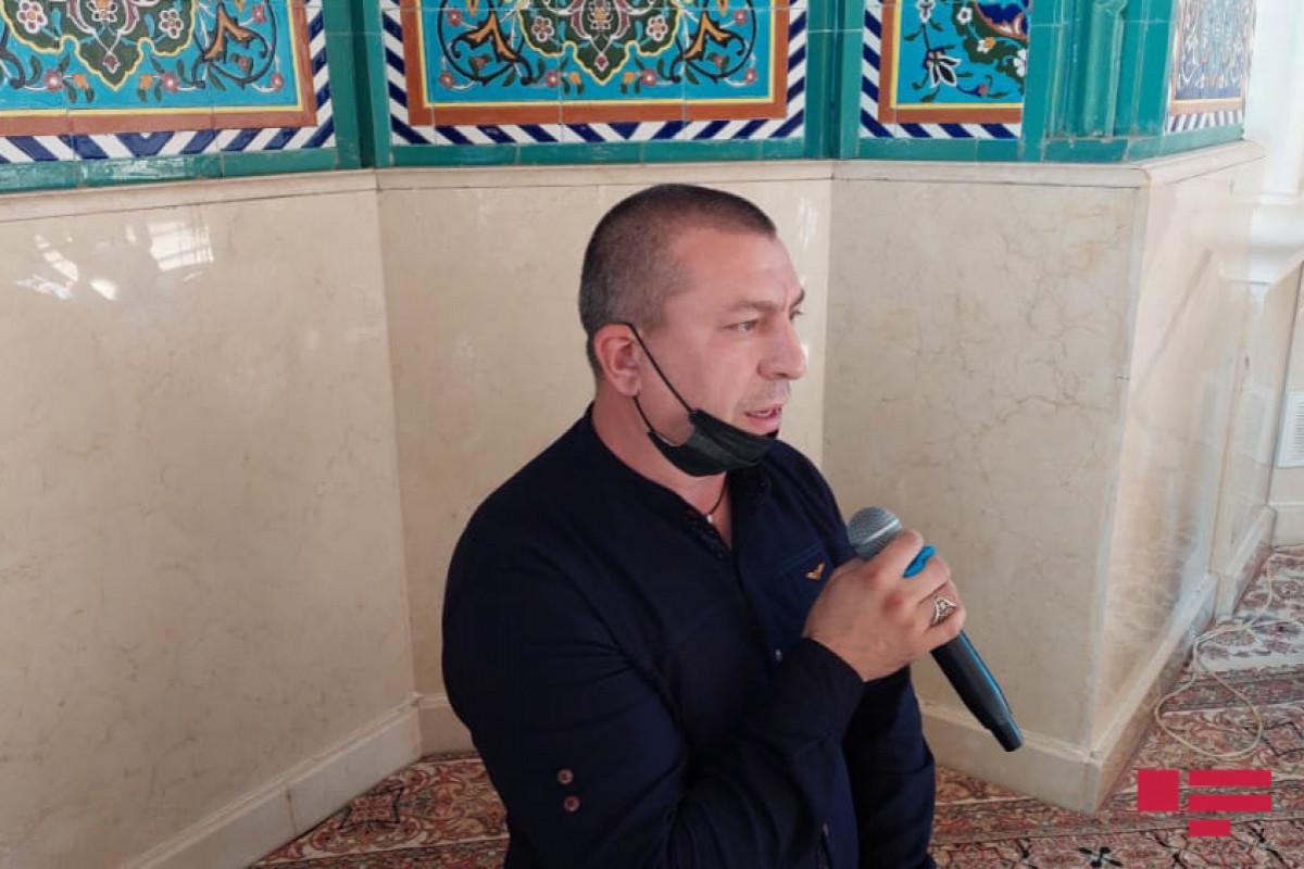 Gəncədəşəhidlərin anım mərasimi keçirilib - FOTO