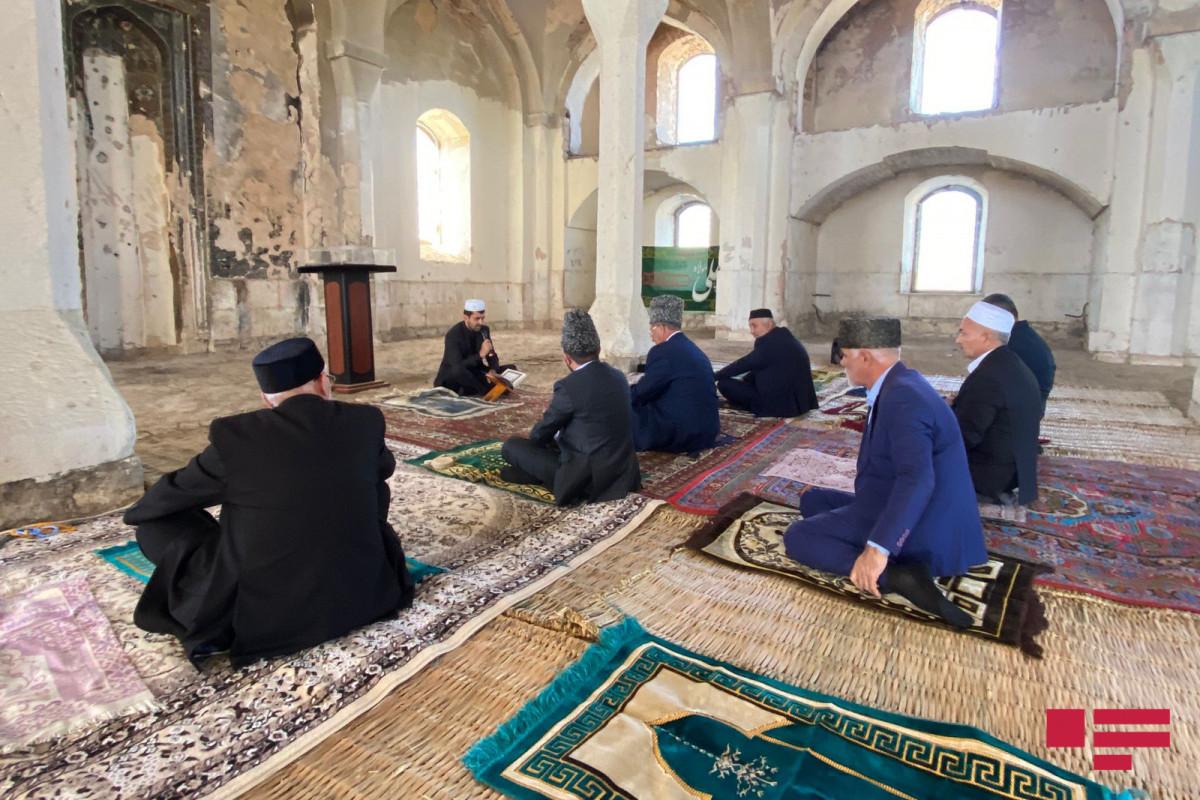 В агдамской Джума-мечети почтили память шехидов