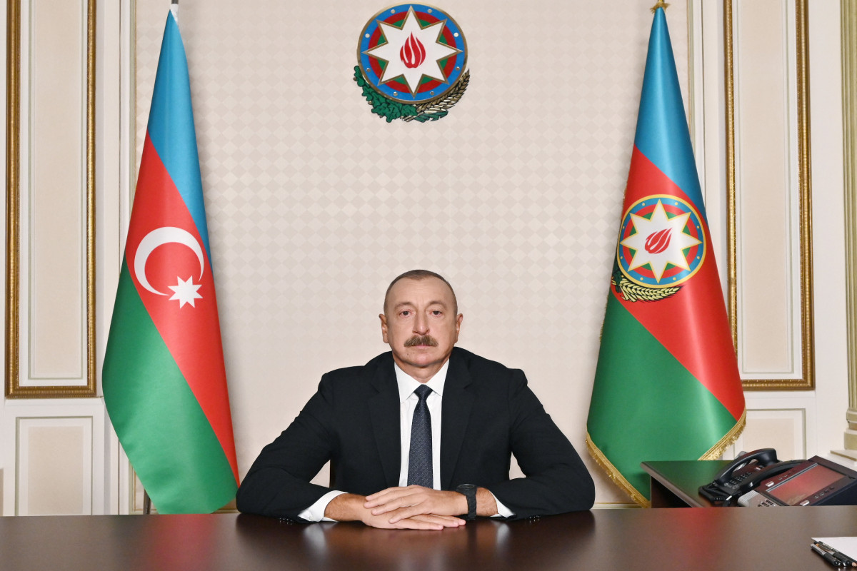 President: Azerbaijan is the party forming the agenda in the region, including Azerbaijani-Armenian relations