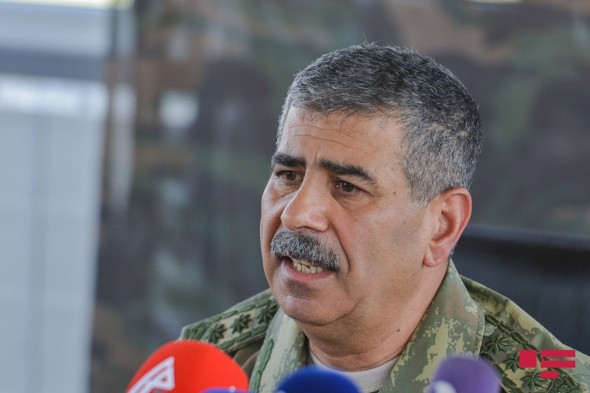 Minister of Defense Zakir Hasanov