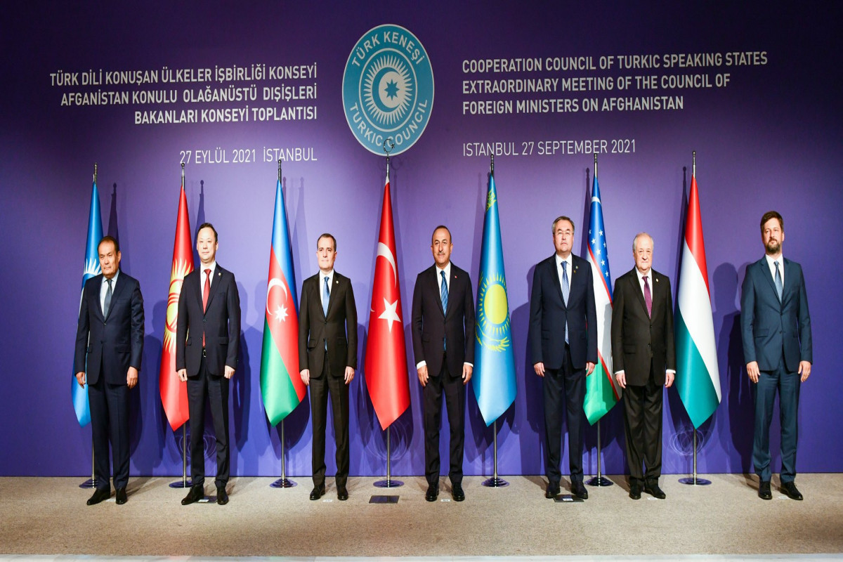 """Extraordinary meeting of Council of Foreign Ministers of Turkic Council starts in Istanbul -<span class=""""red_color"""">PHOTO"""