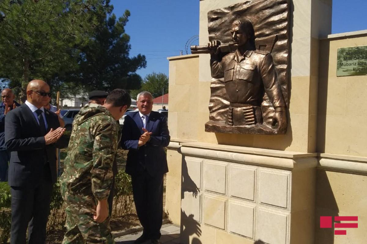 В Тертере открыта улица, названная в честь Национального героя Мубариза Ибрагимова