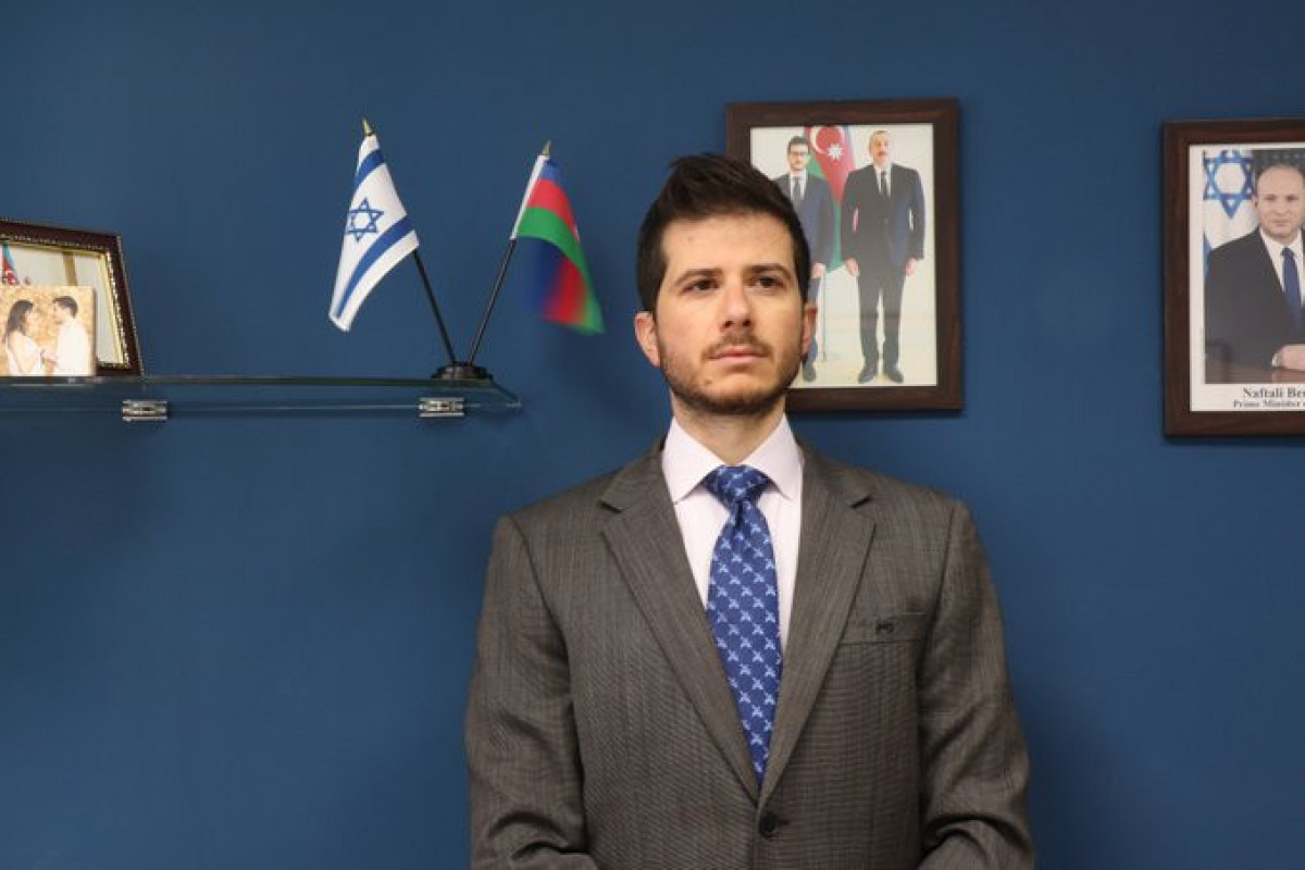 Посол Израиля Джордж Дик