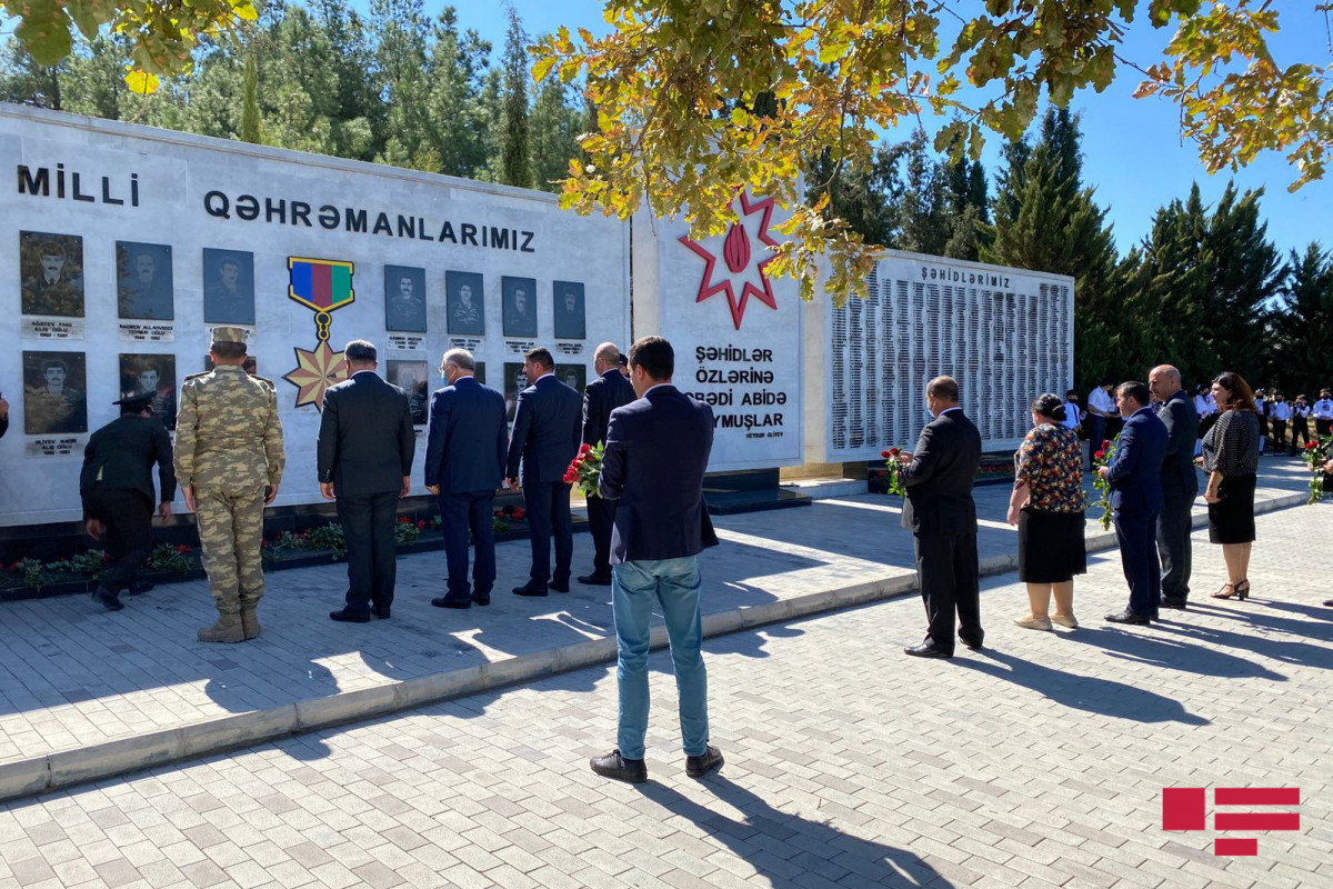 Ceremony held in Aghdam on the occasion of Day of Remembrance-PHOTO