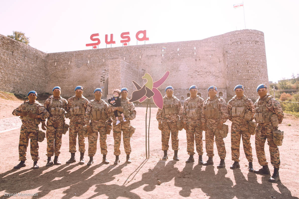Military Parade held in Shusha on occasion of Remembrance Day