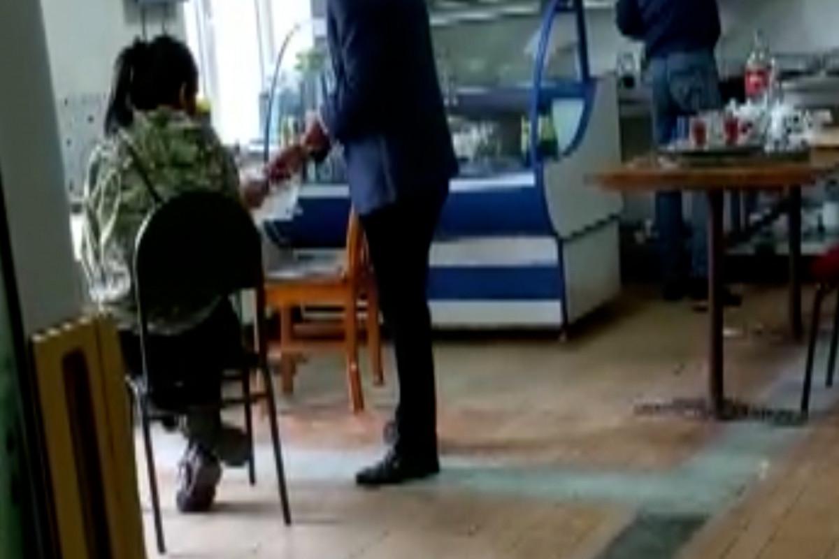 Abşeronda obyekt sahibindən hədə-qorxu ilə pul tələb edən saxta jurnalist tutulub - VİDEO