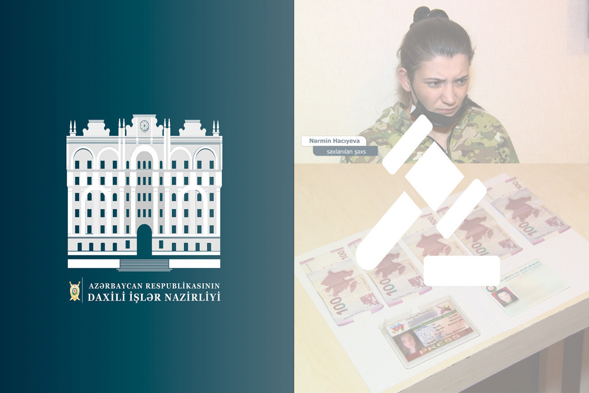 """В Абшеронском районе задержан лжежурналист, вымогавший деньги у владельца объекта-<span class=""""red_color"""">ВИДЕО"""