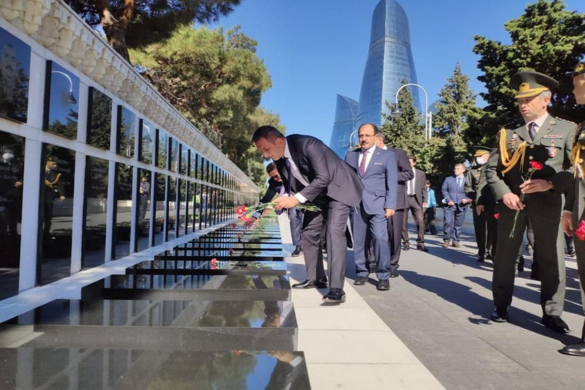 Deputy defence minister of Turkey is on a visit to Azerbaijan