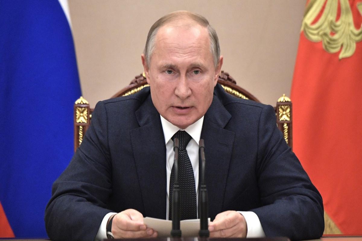 Putin Rusiyanın əsas düşmənlərini açıqlayıb