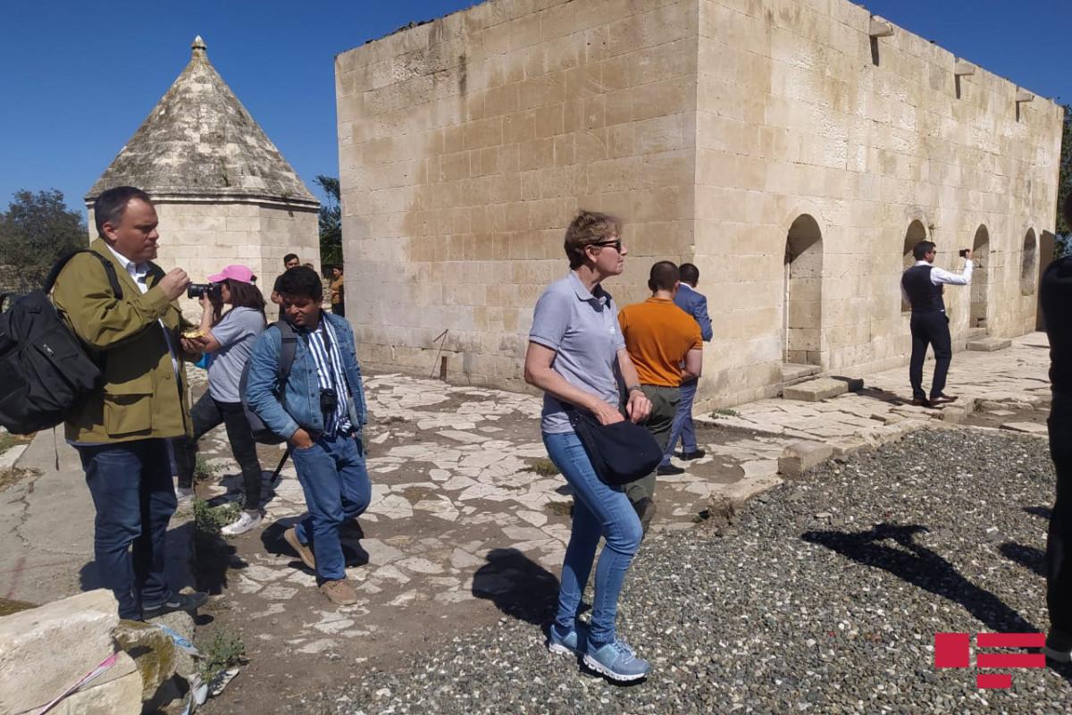 International travelers visited Aghdam-PHOTO