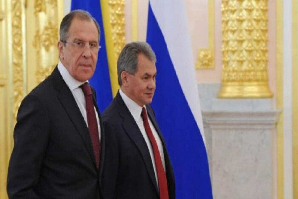 Kreml: Lavrov və Şoyqu hökumətdəki vəzifələrində qalacaqlar