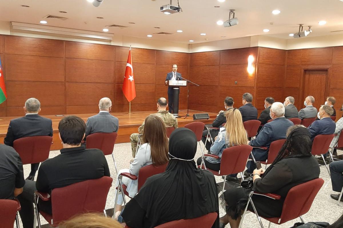 Мероприятие в связи с Днем памяти в посольстве Турции