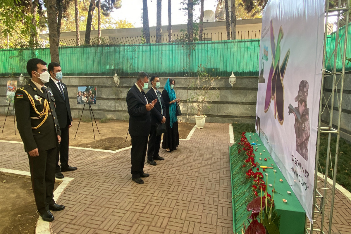 """Patriotic War martyrs commemorated in Tehran-<span class=""""red_color"""">PHOTO"""
