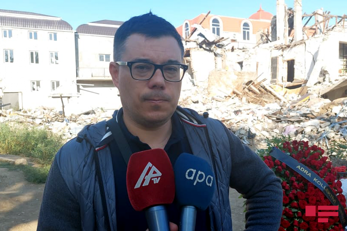 """Ukrainian journalist: """"It is crucial to collect evidenceof crimes committed by occupants in Karabakh"""""""