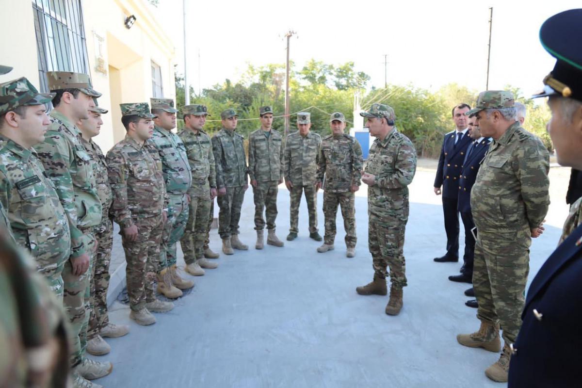 Opening ceremony of military prosecutor office buildings in Kalbajar and Gubadli held