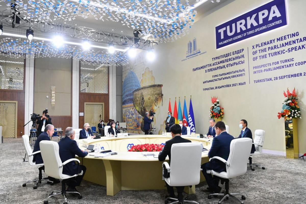 Заседание Совета ТюркПА