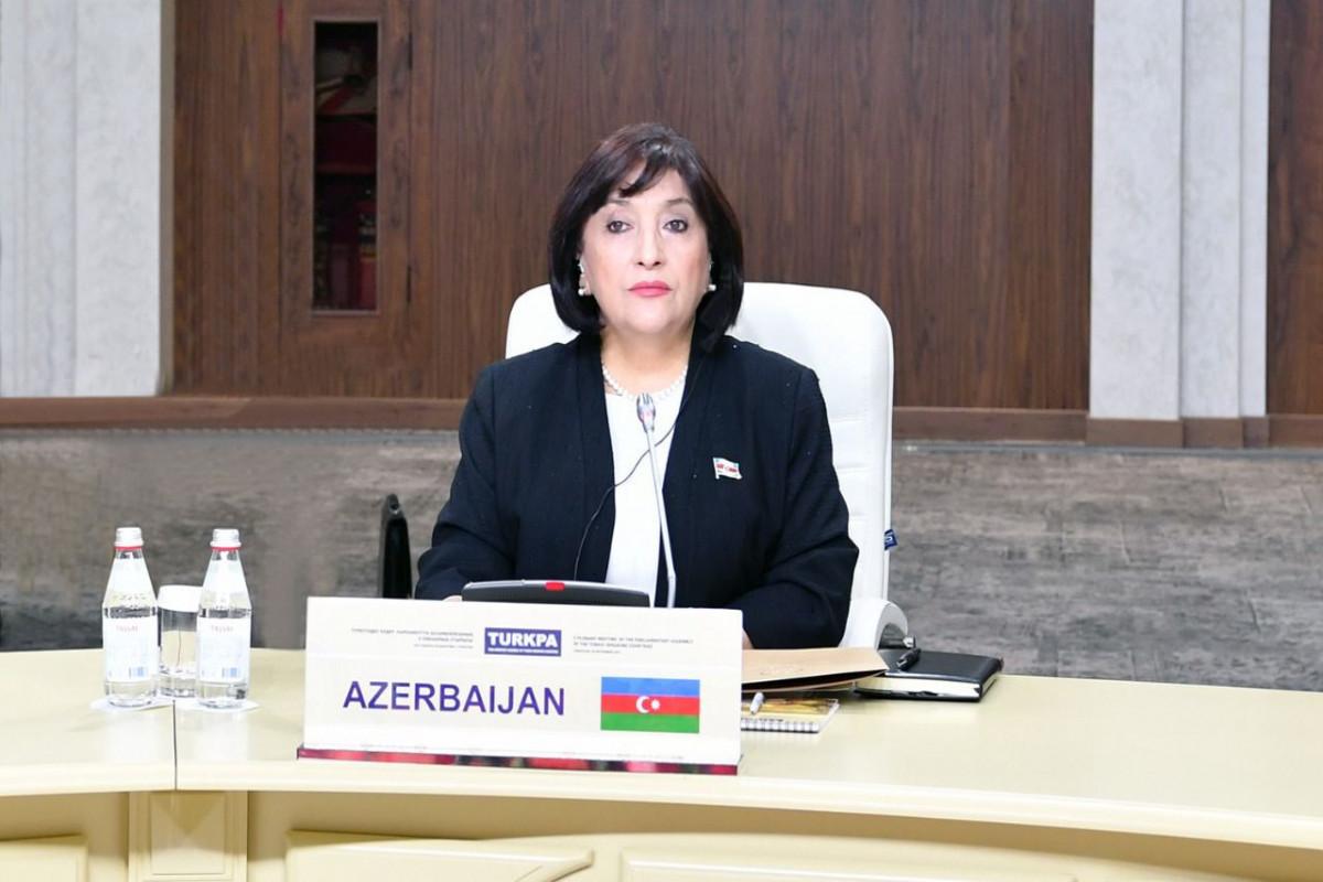 Сахиба Гафарова: Я верю в расширение ТюркПА, увеличение числа полноправных членов