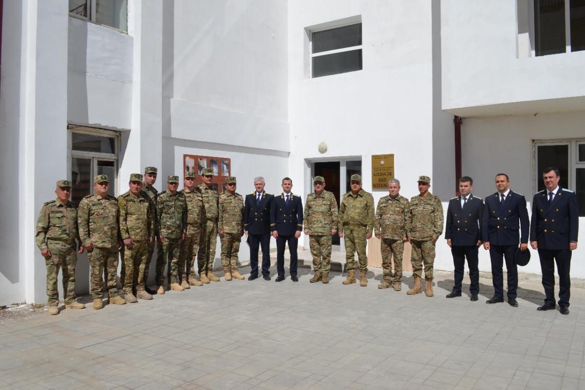 В Кяльбаджаре и Губадлы состоялось открытие зданий военной прокуратуры