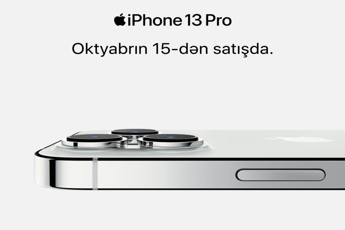 """Azərbaycanda 15 oktyabradək təklif edilən """"iPhone 13"""" seriyası rəsmi deyil"""