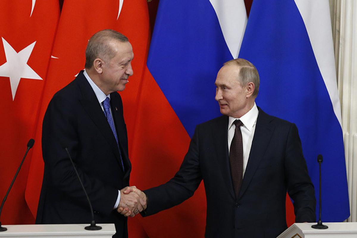 Kreml: Sabah Putin-Ərdoğan görüşündə Cənubi Qafqazdakı vəziyyət də müzakirə ediləcək