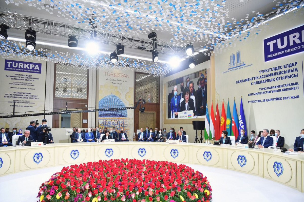 TÜRKPA-nın 10-cu plenar iclası