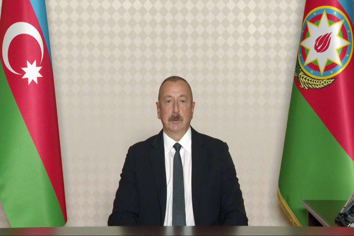 President Ilham Aliyev gives interview to France 24 channel