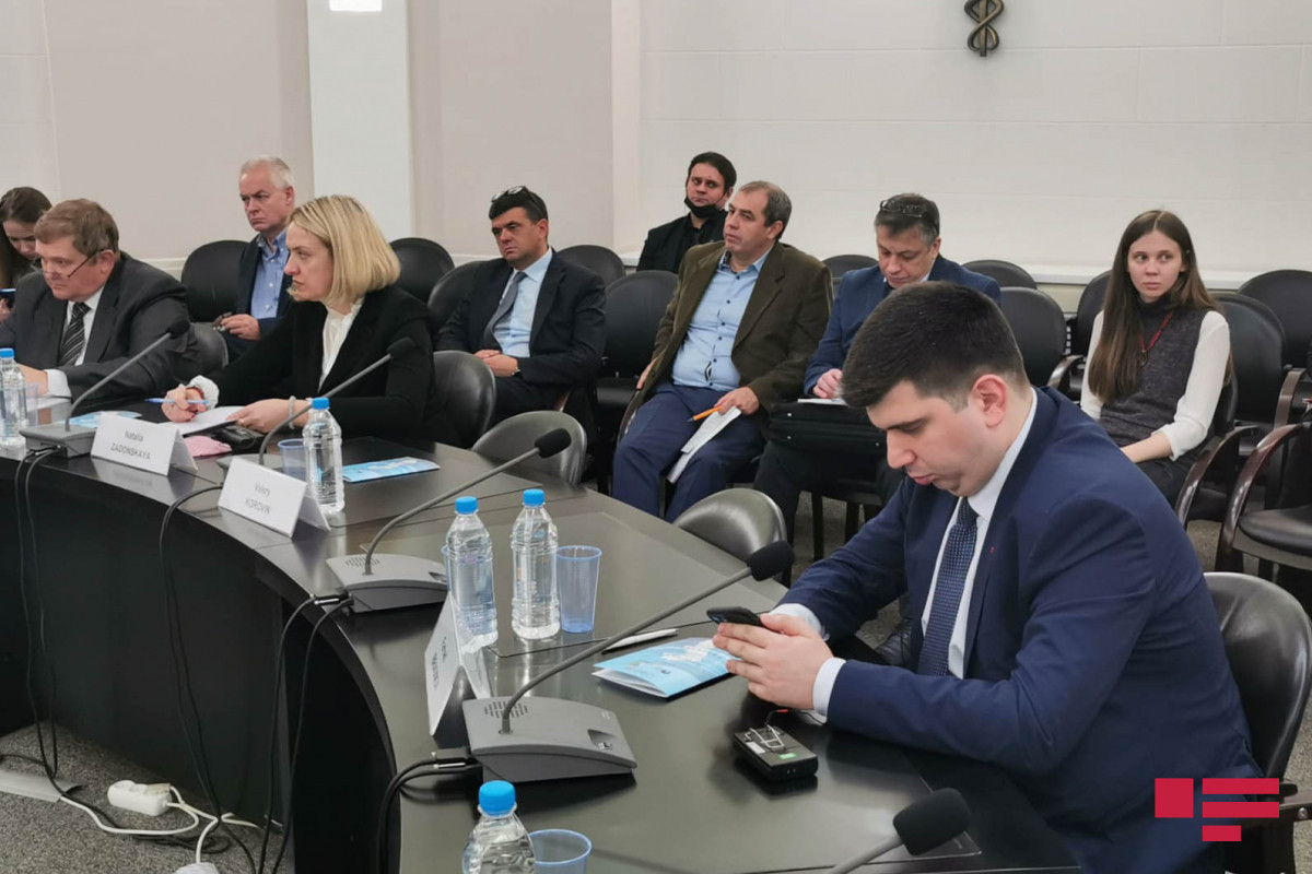 Round table on cooperation among Azerbaijan, Russia and Iran in the Caspian Sea held in Moscow