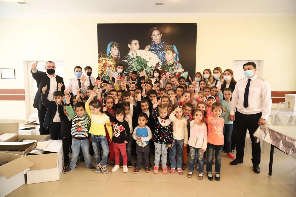 Prokurorluq əməkdaşları uşaq evlərini ziyarət ediblər