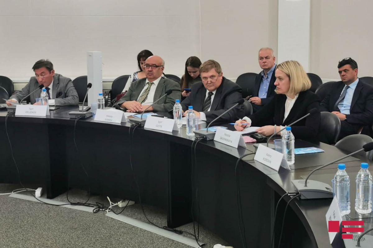 В Москве проведен «круглый стол» на тему сотрудничества между Азербайджаном, Россией и Ираном на Каспии