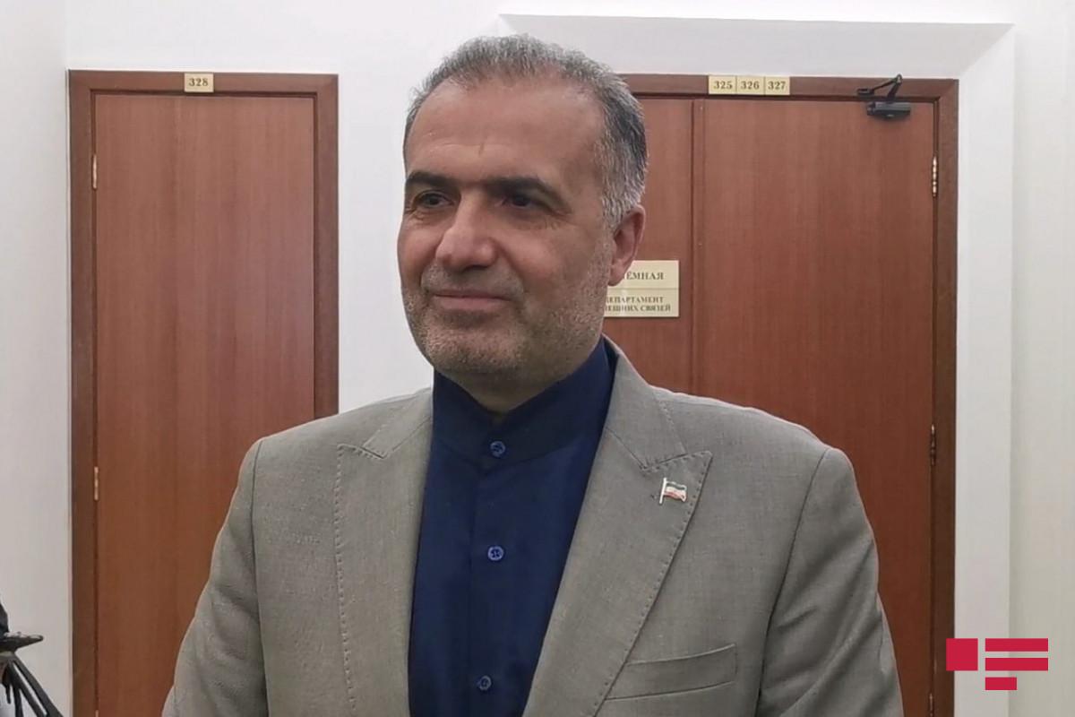 İran münaqişənin bitməsinin Azərbaycan-Ermənistan münasibətlərinin inkişafına səbəb olacağına ümid edir