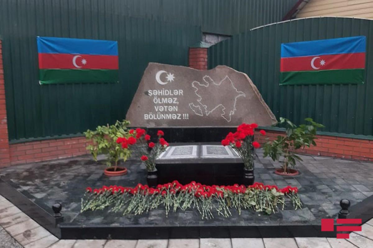 В Кемеровской области России установлен мемориал шехидам Отечественной войны