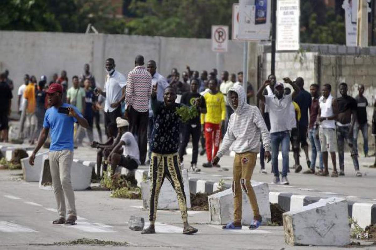 Nigeriyanın paytaxtında iğtişaşlara görə 57 nəfər saxlanılıb