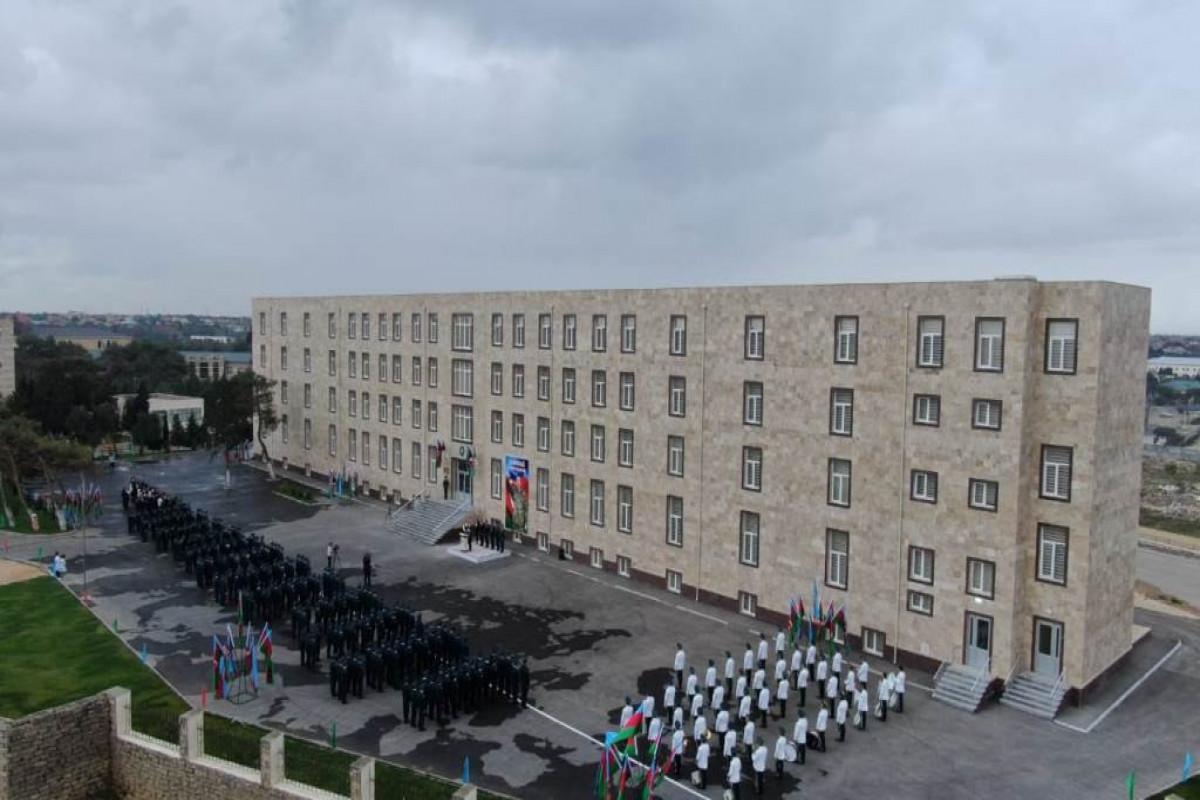 Bakıda DSX-nin Xüsusi Məktəbinin yeni binası istifadəyə verilib - FOTO