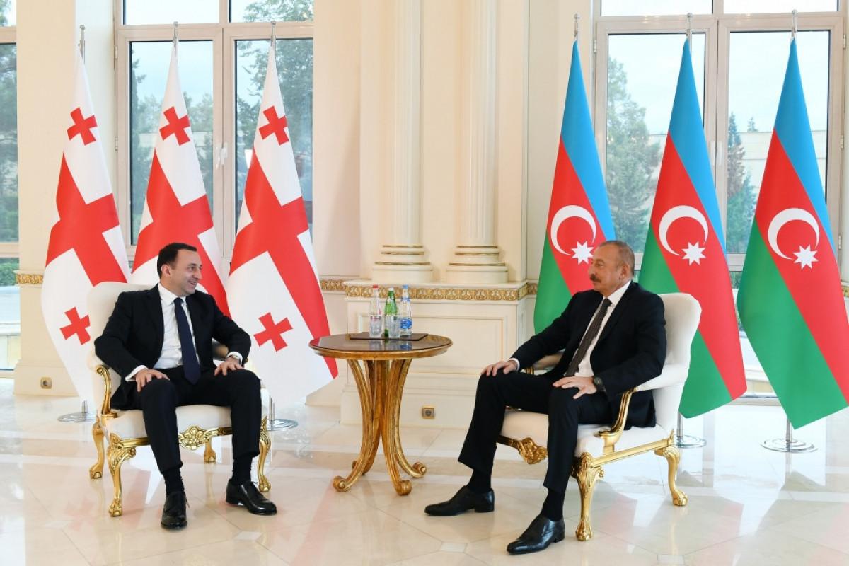 İrakli Qaribaşvili, Prezident İlham Əliyev