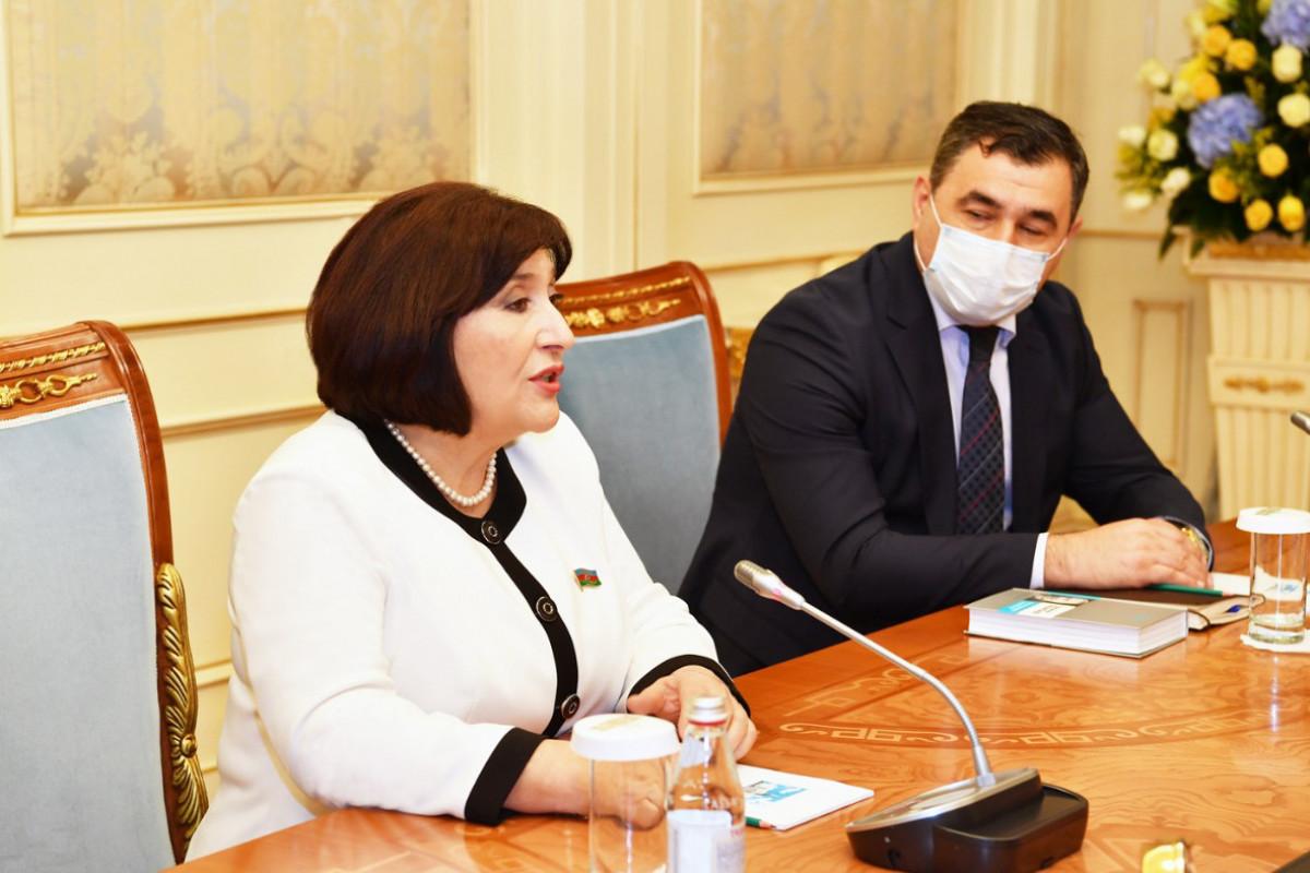 Milli Məclisin sədri Sahibə Qafarova, Nursultan Nazarbayevlə görüş