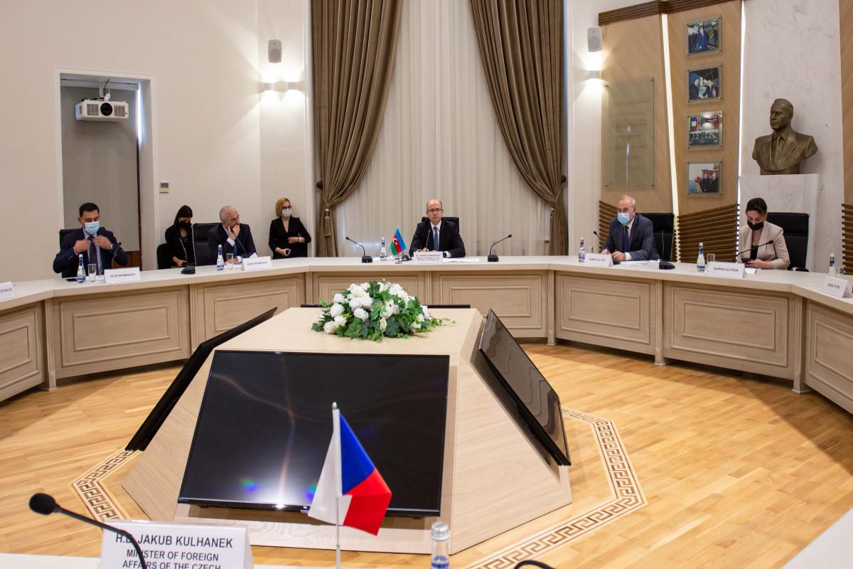 Azərbaycan və Çexiya arasında energetika sahəsindəəməkdaşlığa dair saziş imzalanıb - FOTO