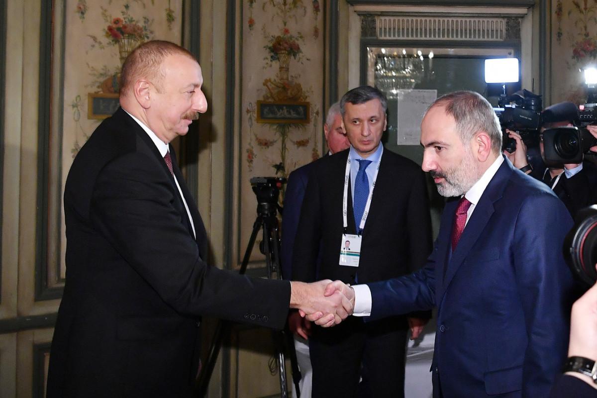 Azərbaycan Prezidenti İlham Əliyev, Nikol Paşinyan
